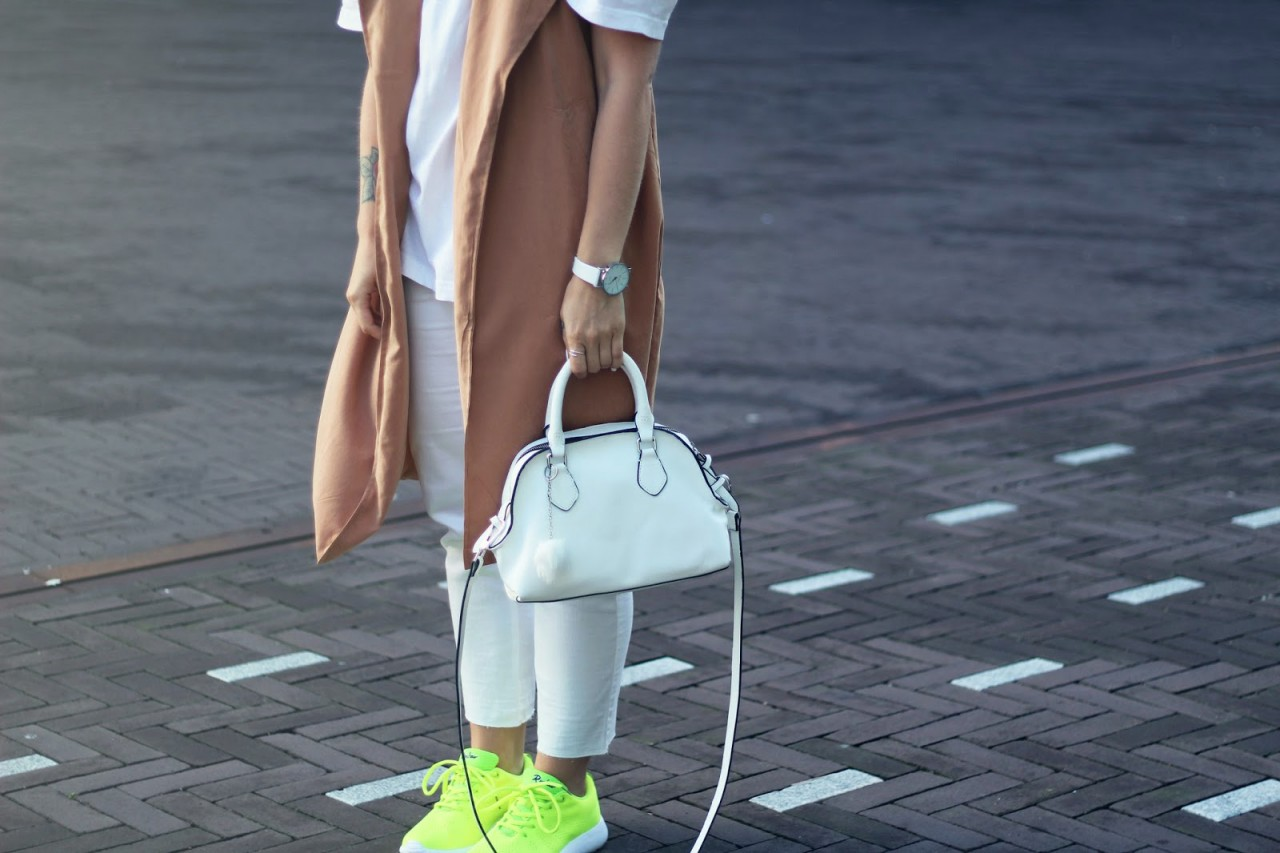Spicing up your all-white look