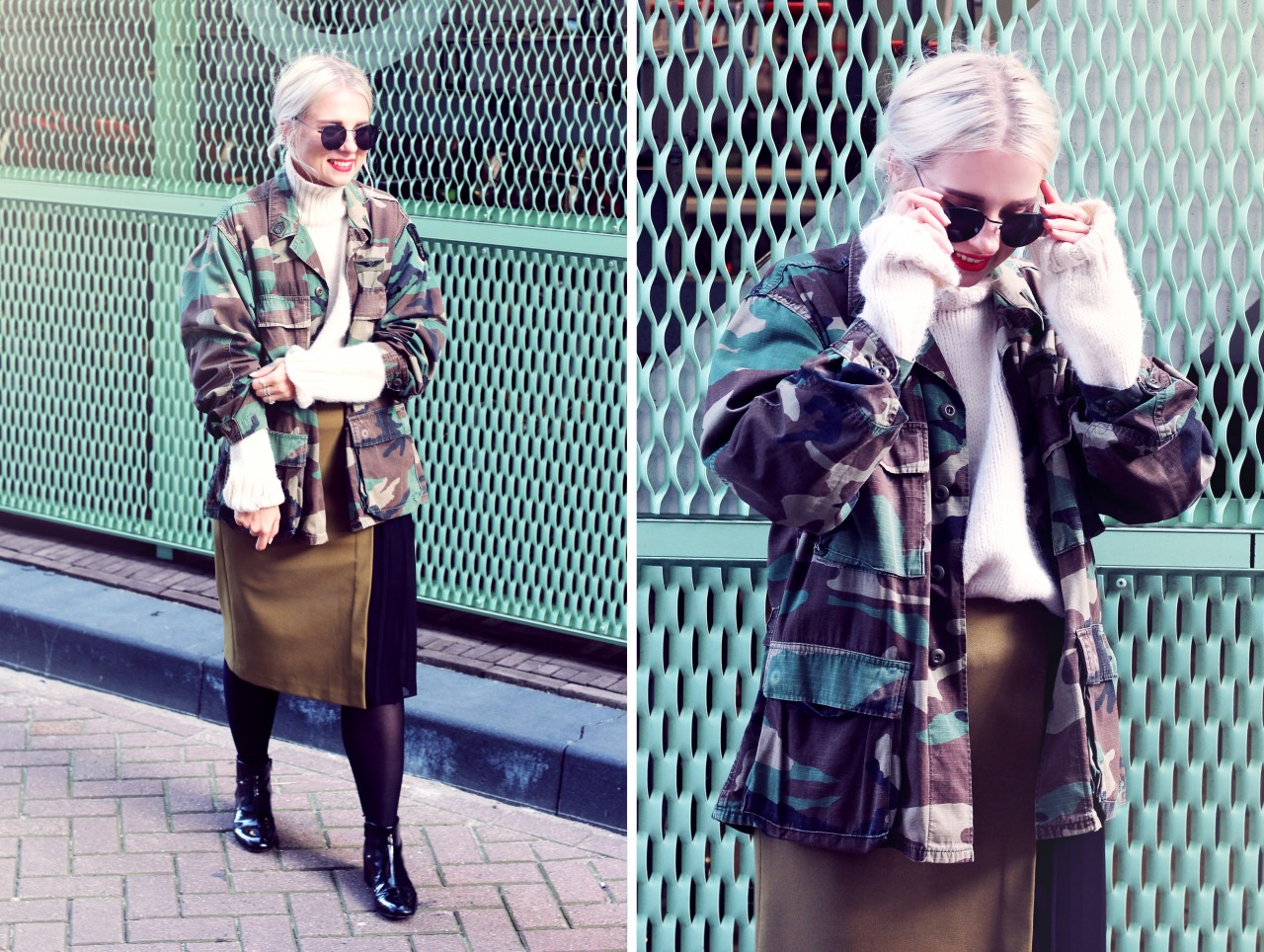 How To Pull Off The Army Jacket